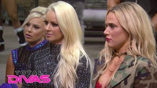 Lana gets an unwelcome surprise during the WWE Brand Extension Draft: Total Divas, April 5, 2017