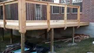 Custom Cedar Deck San Antonio - Freedom Outdoor Living