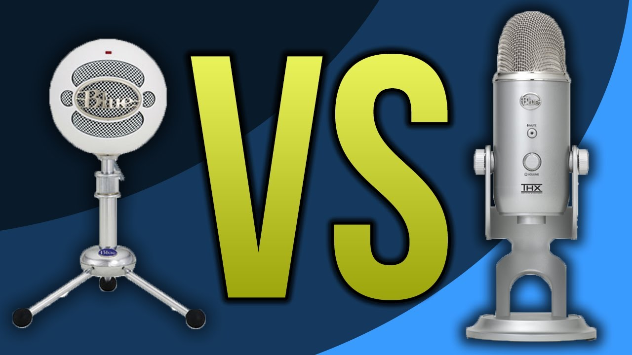 Blue Snowball VS Blue Yeti Microphone (Review / Comparison)