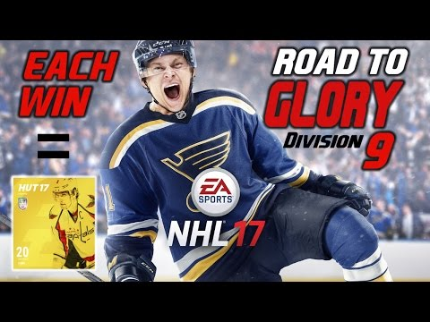 ROAD TO GLORY - LEGEND PULL!!! | NHL 17 GAMEPLAY