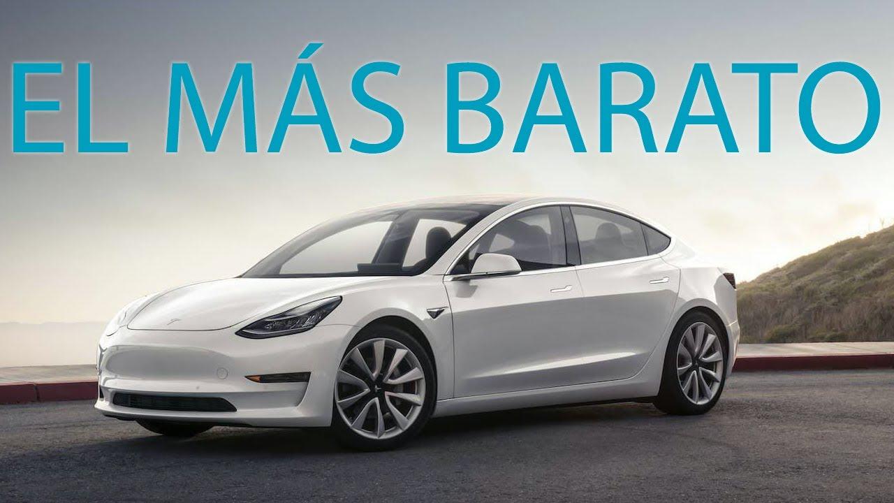 💶💶 EL Tesla Model 3 MAS BARATO que puedes comprar en España 💶😍