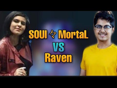 Soul々Mortal VS Raven   Boyfriend Vs Girlfriend   Who Is The Best Pubg Mobile Player?