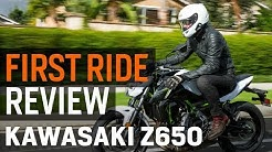 Kawasaki Z650 First Ride Review at RevZilla.com