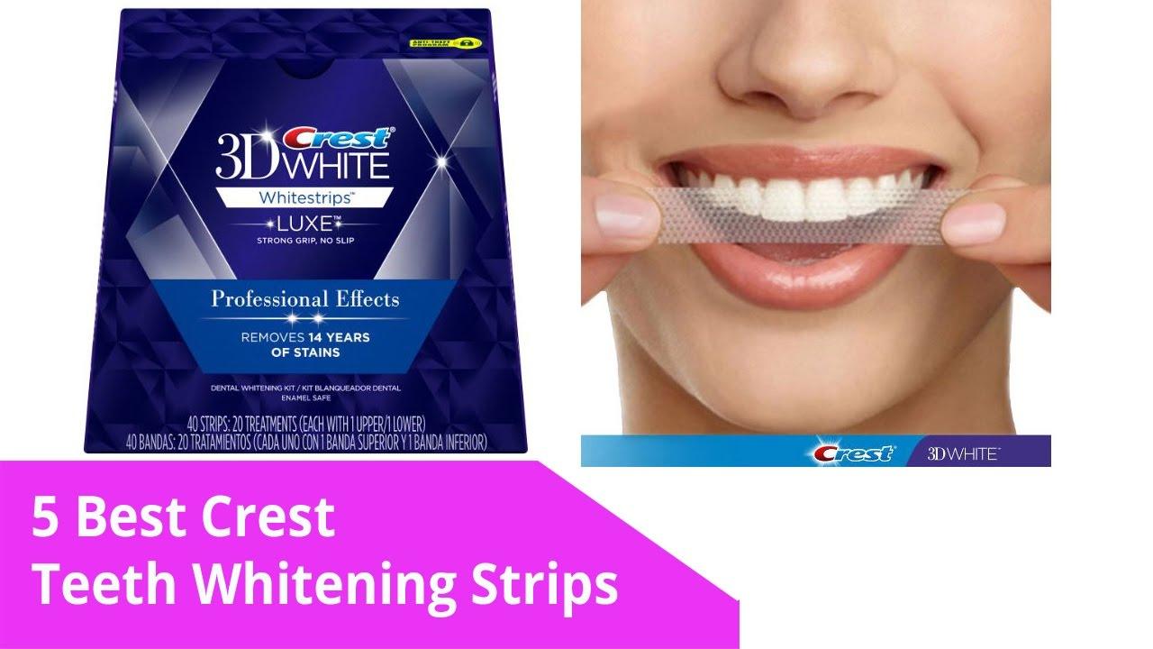 Best Whitening Strips Crest Teeth Whitening Strips 2017 Youtube