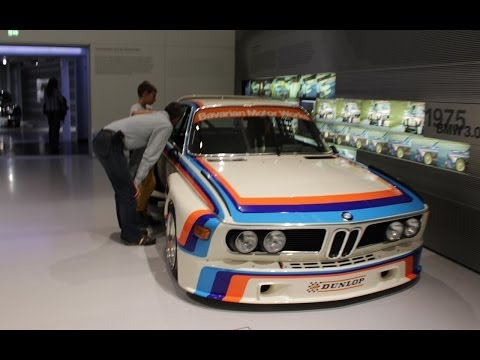 George Reed Visits BMW Welt in Munich, Germany