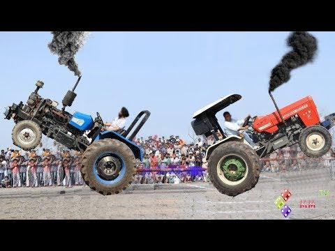 Truck Swaraj vs Sonalika vs Powertrac race God Speed reveals their engine power
