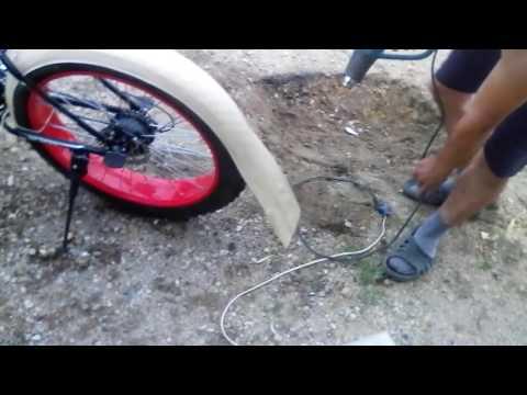 Как сделать крыло на велосипед своими руками из бутылки