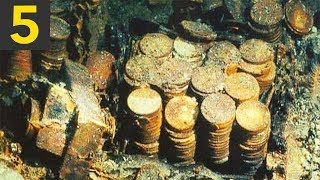Download Top 5 BIGGEST Sunken Treasures Ever Found Mp3 and Videos