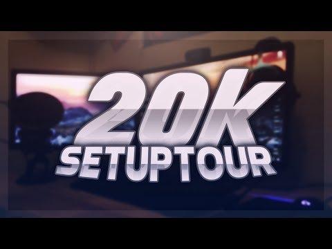 20k Subscriber Special! | Room/Setup Tour!