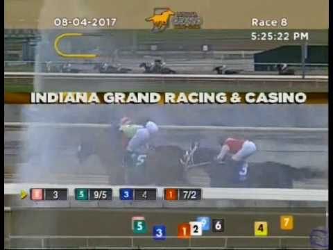 Secret Authority trained by Jeffrey L. Greenhill wins at Indiana Grand Race Course on 08/04/2017