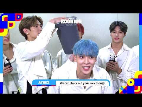 [#KCON19LA] KCON ROOKIES: BUCKET CHALLENGE With ATEEZ