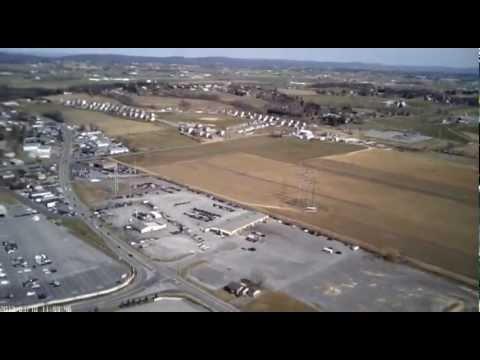 Aerial Video of the Manheim Auto Auction