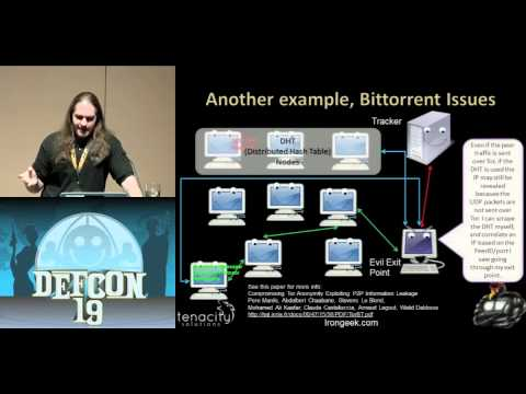 DEFCON 19: Cipherspaces/Darknets: An Overview Of Attack Strategies (w speaker)