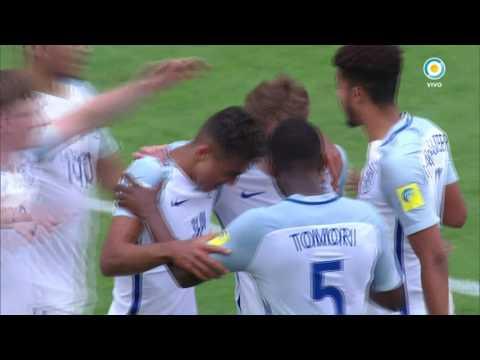 Mundial Sub 20 2017 - Argentina vs. Inglaterra - Gol de Lewin
