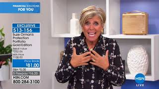 HSN   Suze Orman Financial Solutions for You 06.16.2018 - 09 PM