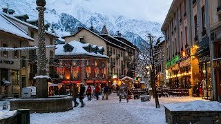 The Best of Chamonix Mount Blanc Annecy | France New Year (4k) with Perfect Strangers (Jonas Blue)
