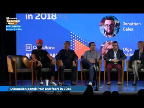 Pain and fears in 2018 (Discussion panel) - Coinsbank Blockchain Cruise 2018