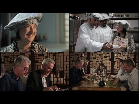 Consul General Katherine Hadda learns to cook Telugu delicacies!