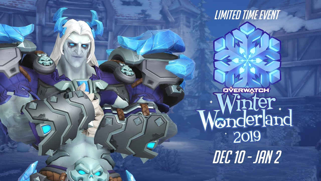 Christmas Event Overwatch Ending 2020 Overwatch Seasonal Event | Winter Wonderland 2019   YouTube