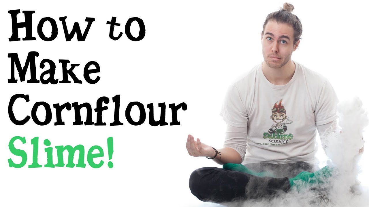 How to make cornflour slime a slimey science experiment to do at how to make cornflour slime a slimey science experiment to do at home ccuart Gallery