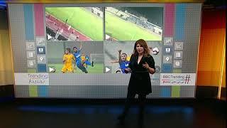 بي_بي_سي_ترندينغ: بالفيديو...خطأ كارثي لمذيع استاد الكويت في مباراة استراليا والكويت