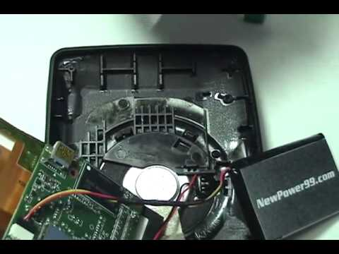 how to change battery on tomtom xl