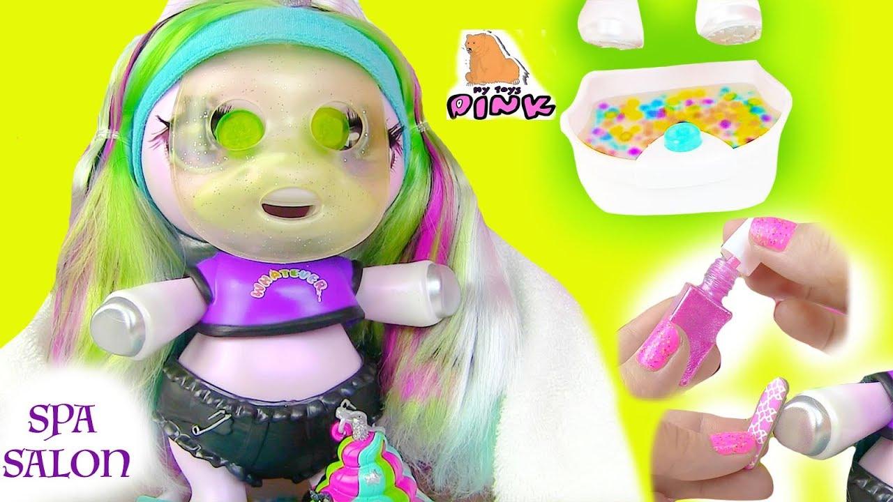 новая сюрприз пони единорог в спа салоне Surprise Poopsie Baby Unicorn Slime барби мультик
