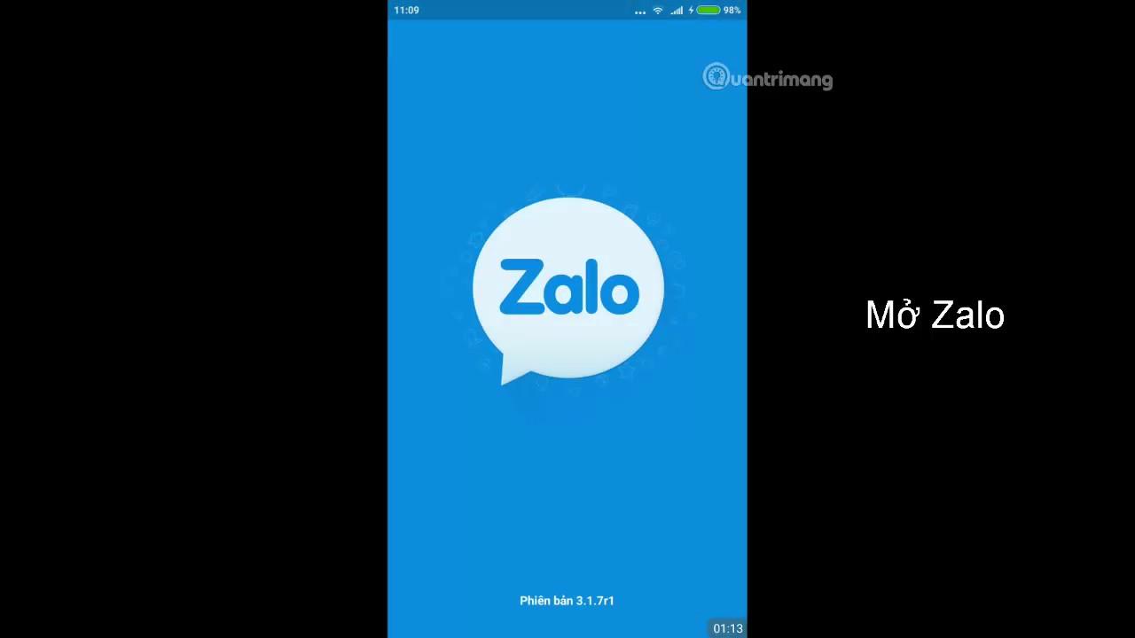 Cách sao lưu và khôi phục tin nhắn trên Zalo Android