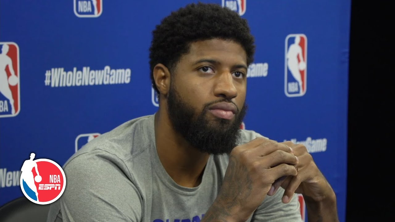 Paul George says Clippers grew closer amid protest | NBA on ESPN