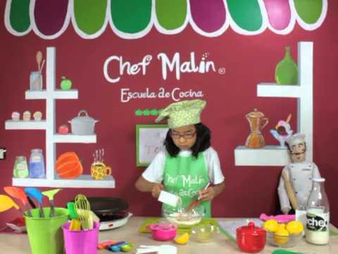 Minichefs receta de tortitas pancakes escuela de for Escuela de cocina