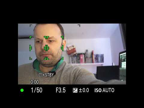 Sony A7S Face Detection for VIDEO