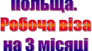 видео Безвізовий режим для України: робота в Польщі, робоча віза в Польщу, віза в Польщу