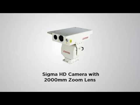 Ultra Long Range Surveillance Camera HD IP PTZ IR Laser Illumination  IR Thermal Imaging +Fog Filter