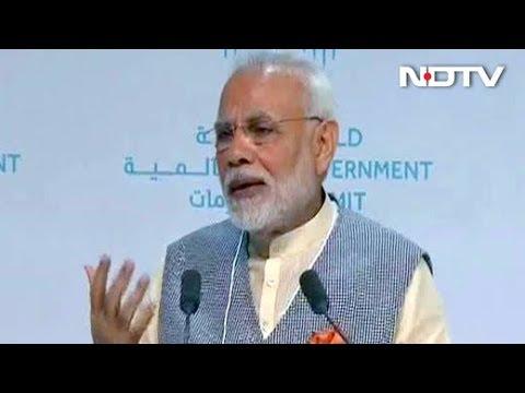 PM Modi Addresses World Government Summit In Dubai