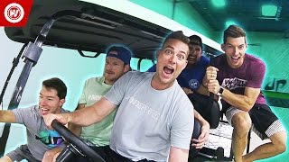 Dude Perfect New Office Tour | Bonus Video