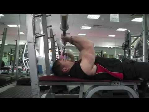 5 Barbell Tricep Exercises with Narration