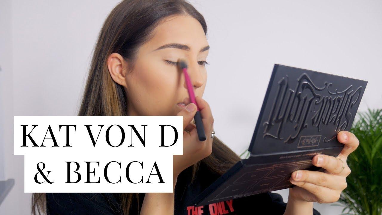 TEST: KAT VON D & BECCA OPAL