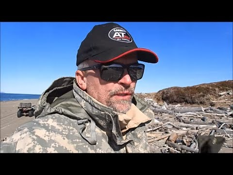 Metal Detecting And Exploring Nome Alaska