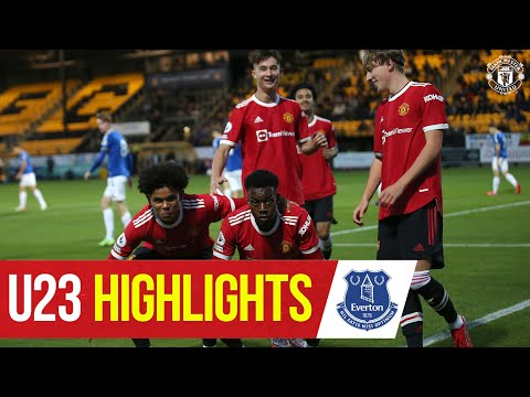 U23 Highlights |  Everton 0-1 Manchester United |  The academy