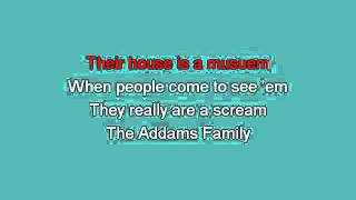 Addams Family Tv TV Theme Song [karaoke]