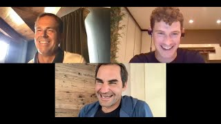 Zooming With Roger Federer And Stefan Edberg