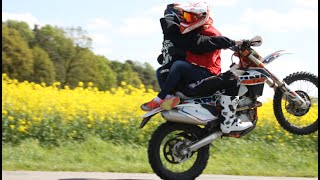 ANGRY PEOPLE / KTM 300 350EXC WHEELIE / FAIL / LIONHEARTS