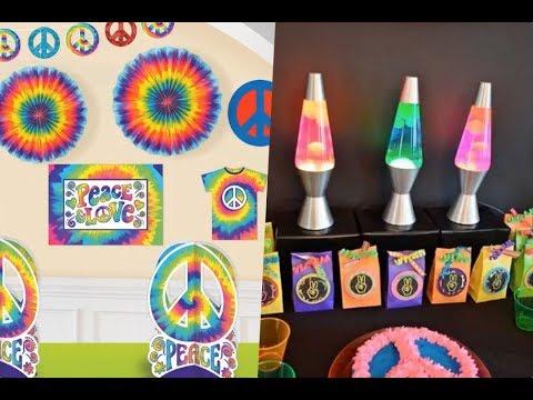 Decoracion de fiestas hippies