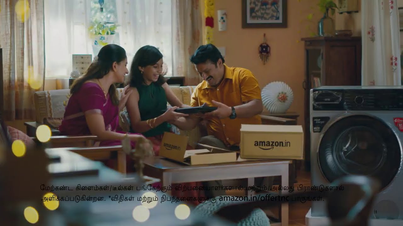 The Door to Happiness is Opening Soon: Big Deals on Big Brands at the Amazon Great Indian Festival.