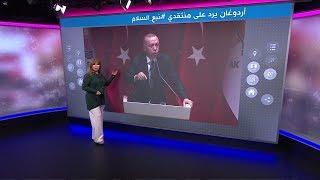 اردوغان يرد على السيسي:
