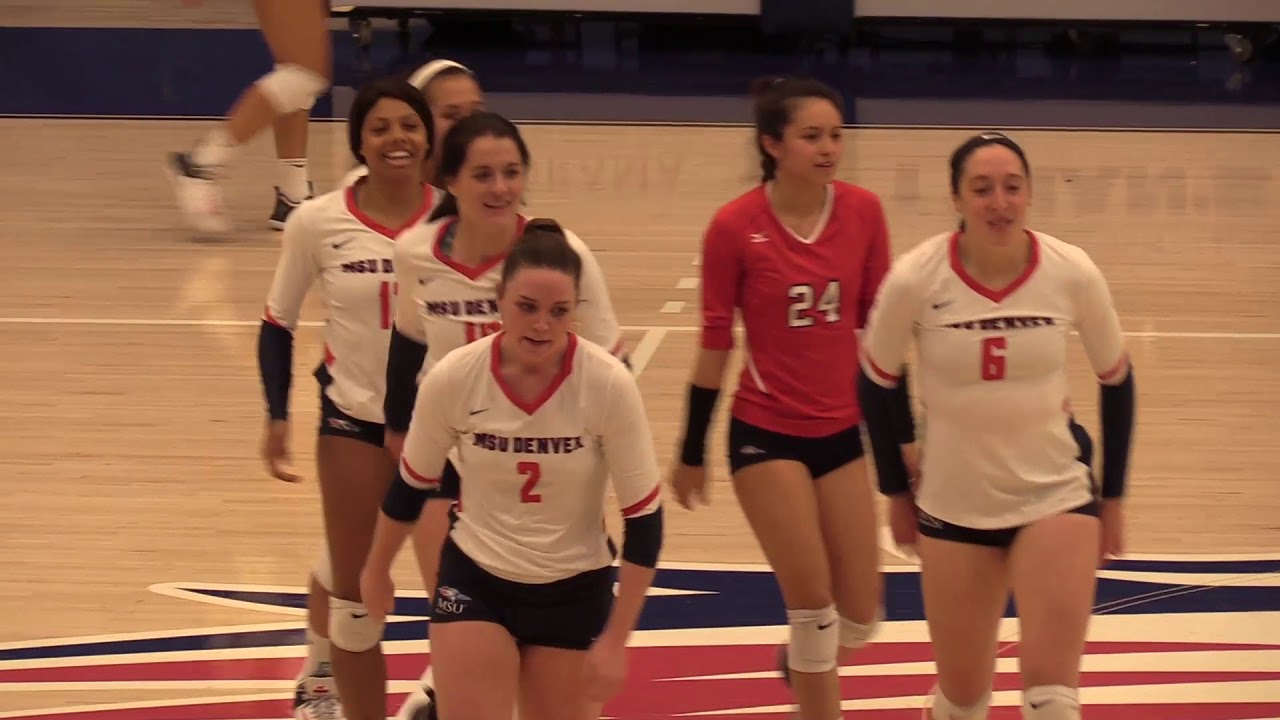 Volleyball Vs 9 Regis University Msu Denver Youtube
