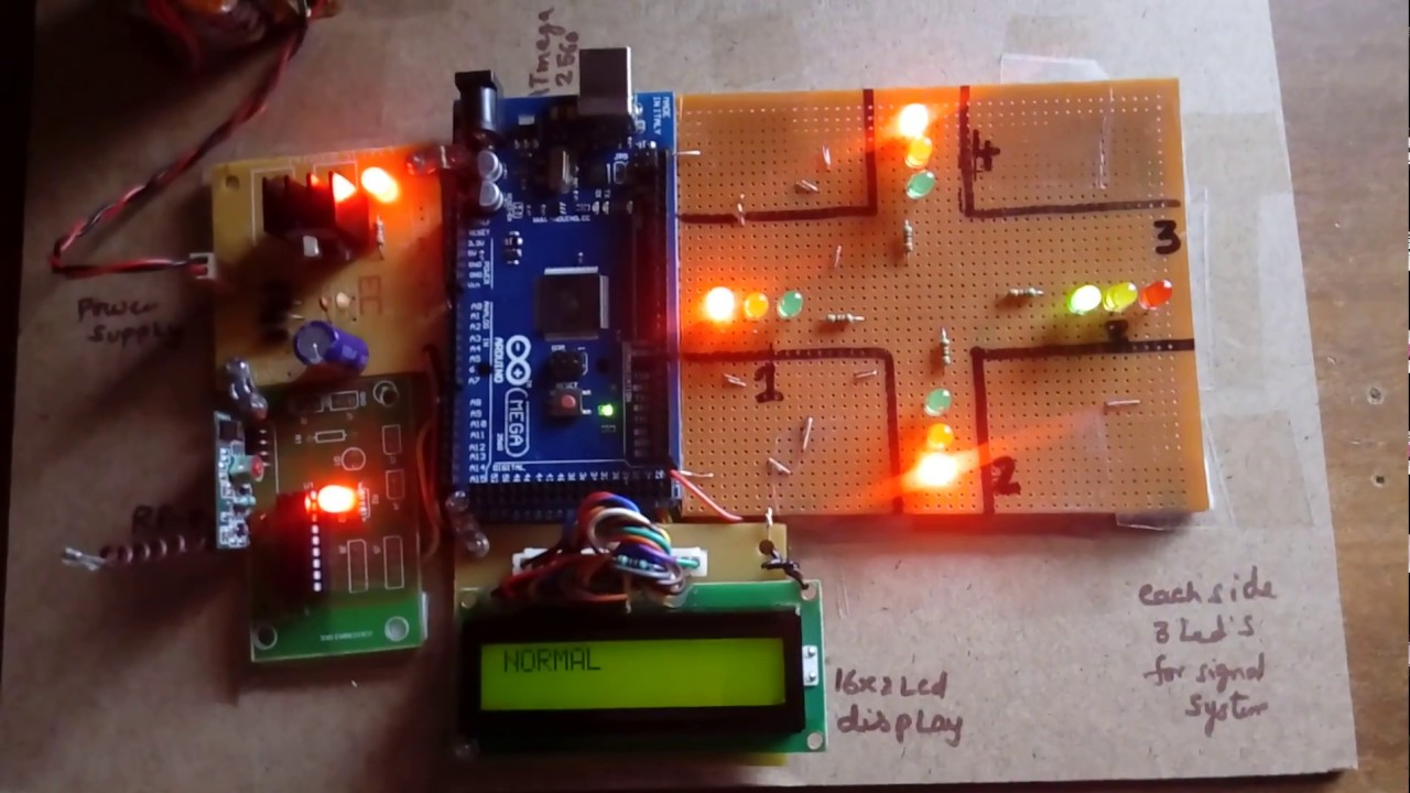 Arduino Based Traffic    Light    Control System for Emergency