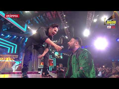 Varun Dhawan and Badshah's Rap jugalbandi at Royal Stag Mirchi Music Awards | #RSMMA | Radio Mirchi
