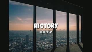 History - rich brian (lirik dan ...