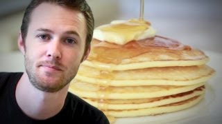 Pancakes, Bacon And Maple Syrup - Byron Talbott